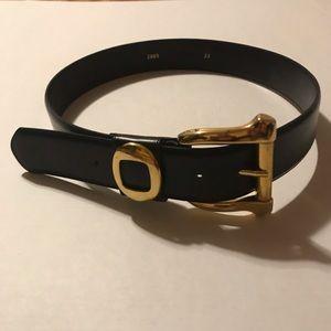 🔥Black Belt With Gold Embellishment Size 33